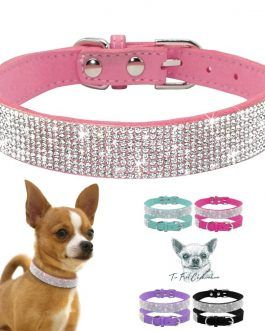 Precioso collar con brillantes tipo diamantes